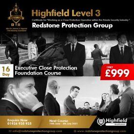 16 Day Executive Close Protection Course