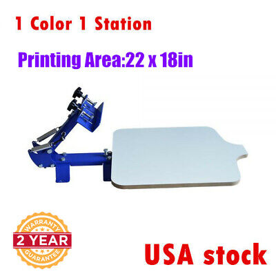 Usa Stock One Station One Color Silk Screen Printing T-shirt Diy Press Equipment