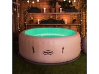 ** Brand New Bestway Lay-Z-Spa Paris Inflatable Hot Tub **
