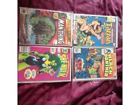 Four first issue comics