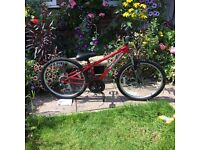 Apollo child's bike 7-11 years old