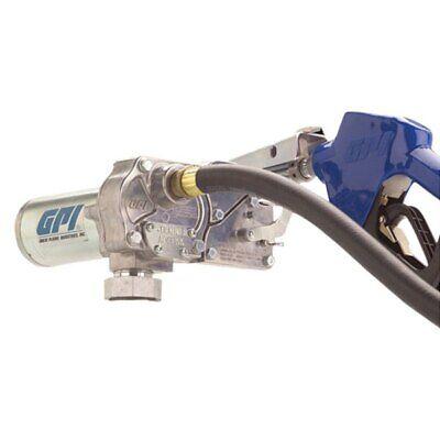 Gpi M-150s 15 Gpm 12 V Dc Fuel Transfer Pump W Automatic Shut-off Nozzle