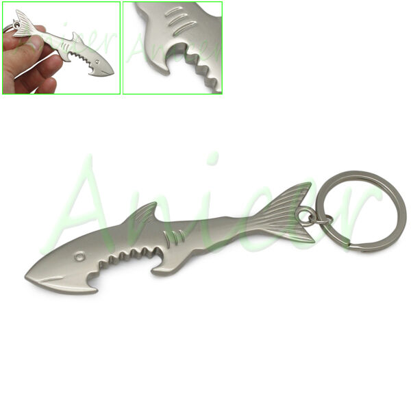 shark bottle opener keychain ebay. Black Bedroom Furniture Sets. Home Design Ideas
