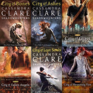 The Mortal Instruments Series by Cassandra Clare Paperback