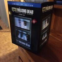 Limited edition The Walking Dead blu ray