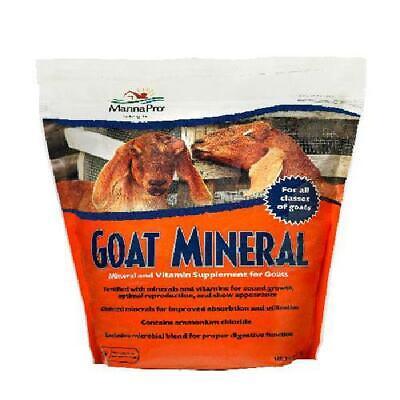 Manna Pro Goat Mineral Supplement 8 Lbs.