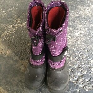 Winter boots, snow pants and 2 winter jackets for sale
