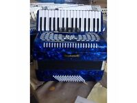 "New Stephanelli 72 Bass Accordion 2017 ""Elite"" Model X-Demo Price"