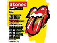 Rolling Stones - 2 Tickets - Saturday 9th June - Edinburgh