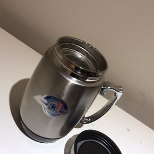 BRAND NEW STAINLESS STEEL INSULATED THERMOS WITH STRAINER Oakville / Halton Region Toronto (GTA) image 2