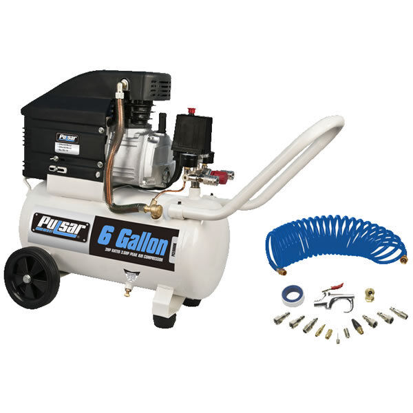Pulsar 3.5-hp 6-gallon Air Compressor W/ Inflation Kit