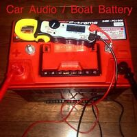 Battery for Heavy Car Audio or Boat Equipment NEW