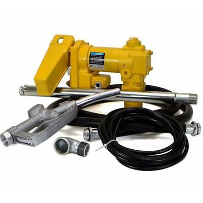 Fuel Works Diesel Gas Gasoline Kerosene Fuel Transfer Pump Kit 12 Volts 20gpm