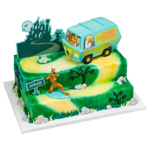 Scooby Doo Mystery Machine Van cake decoration Signature Decoset cake topper set
