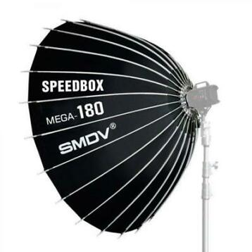 SMDV Speedbox Mega-180 softbox 180cm Wit Bowens Mount