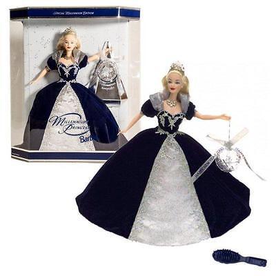 NIB Millenium 2000 Princess Special Edition Barbie Doll Mattel NRFB Collectors