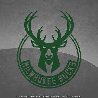 Milwaukee Bucks NBA Logo Vinyl Decal Sticker - 4