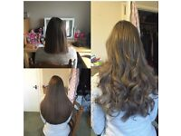 Stunning Hair Extensions SAME DAY APPOINTMENTS AVAILABLE from £220