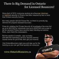 Ontario Security Guard & Bouncer Training
