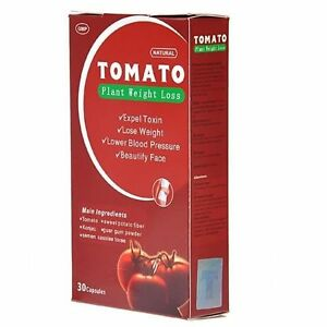 Tomato Herbal Natural Plant Slim Weight Loss Diet Pills, Capsules USA SELLER