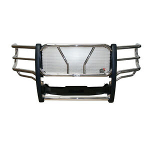 CHEV HD STAINLESS STEEL HDX WINCH MOUNT GRILLE GUARD
