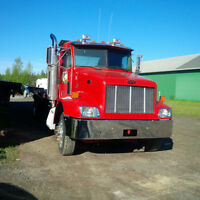 Towing Peterbilt 2003