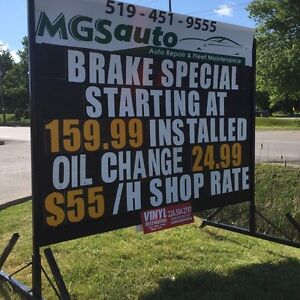 Portable Sign Rentals Low Priced & Done Right! London Ontario image 1