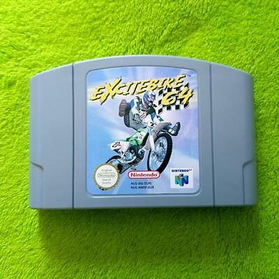 N64 - Excitebike 64 - Nintendo 64 (Pal)
