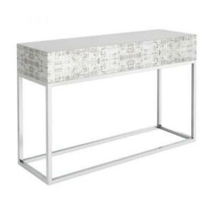 CONSOLE TABLE FOR FOYER- CREAM CONSOLE TABLE(BD-845)