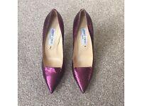 Jimmy Choo: Pink 'Allure' High Heel Shoes 💕
