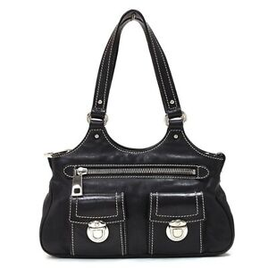 MARC JACOBS ~ New Anouk Bag (Black Leather)