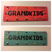 Grandkids picture boards locally homemade