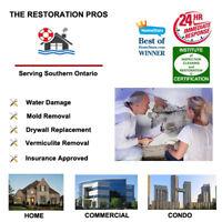 Expert Water Damage Repair/ Mold restoration service.