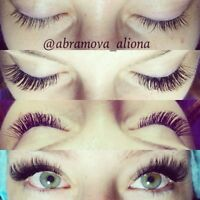Lashes by Aliona Abramova! 3D/regular extension. Different sizes
