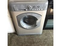 Hotpoint 8 kg washing machine in mint condition with a warranty