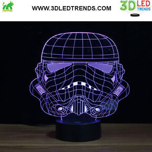 3D LED Night Light Illusion with ABS Base *7 changing colors* Kitchener / Waterloo Kitchener Area image 7