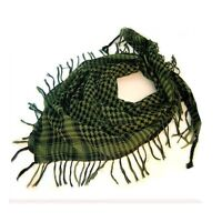Shemagh - Green/Black - Great for Paintball, Airsoft, Hot/Cold