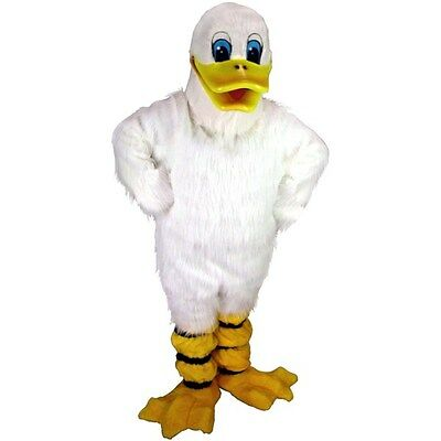 Duck Costume Adults (Quackers the Duck Professional Quality Mascot Costume Adult)
