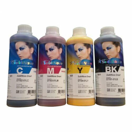 Original 4L Inktec SubliNova Smart Inkjet Dye Sublimation Ink DTI CMYK
