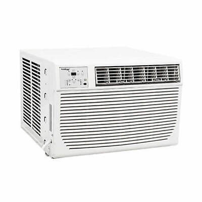 Koldfront - 12,000 BTU - Window Air Conditioner - 3.5 kW Electric Heat - 220V