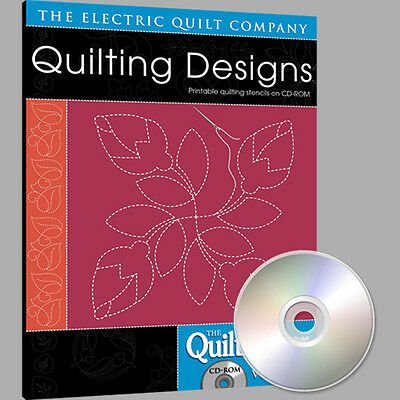QUILTMAKER QUILTING DESIGNS Volume 1 Software NEW CD Abstract Celtic Feathers Quiltmaker Quilting Designs