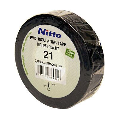 Cinta Aislante Nerón 10 M - Cinta Para Cables Cableado Y Cables...