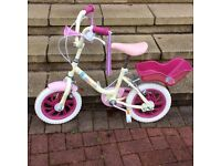 Girls Raleigh Sunbeam Bicycle 14 inch wheel Age 2-5 years
