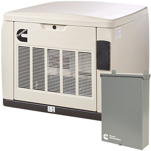 Cummins Rs20ac - 20kw Quiet Connect™ Series Home Standby Generator Syst...
