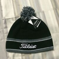 Grey & black Titleist Winter toque BRAND NEW with tags hat