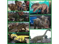 Business For Sale - Dinosaur Tours UK - Interactive Animatronic Event Show Tour Hire