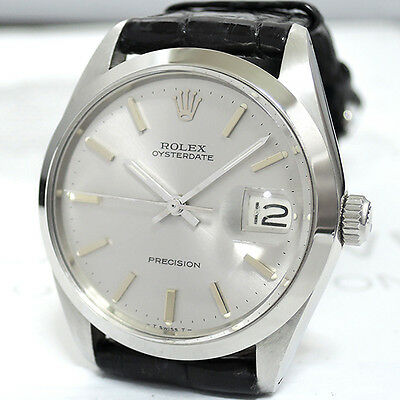 ROLEX OYSTER DATE PRECISION 6694 ANTIQUE MODEL HAND WINDING CF4906