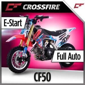 CROSSFIRE CF 50 FULL AUTO KIDS MINI BIKE 46KG TOTAL CLASS LEADING Jamisontown Penrith Area Preview