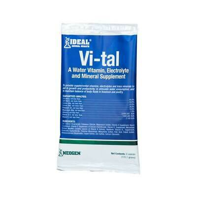 Vi-tal Livestock Electrolytes 6 Ounce Packet 128 -384 Gallons Water Or Feed Su