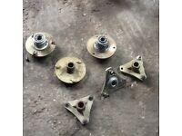 Quad bike stub axels